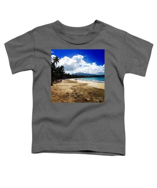Luquillo Beach, Puerto Rico Toddler T-Shirt