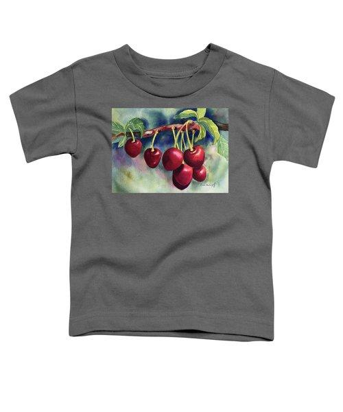 Luscious Cherries Toddler T-Shirt