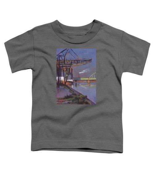 Maastricht Industry Toddler T-Shirt by Nop Briex