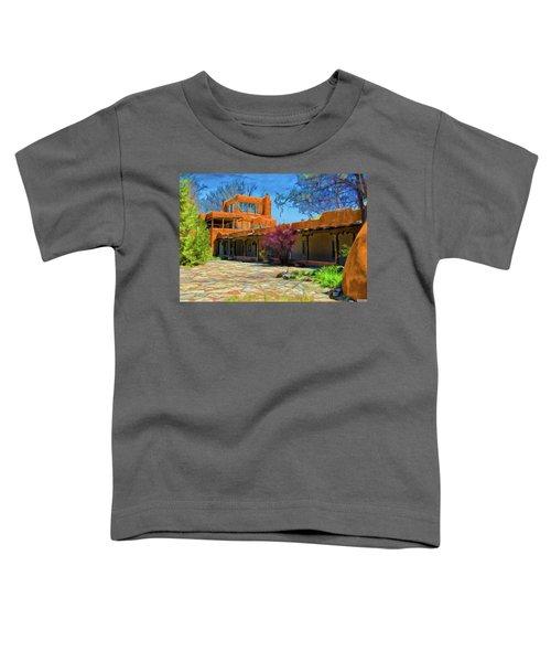 Mabel's Courtyard As Oil Toddler T-Shirt