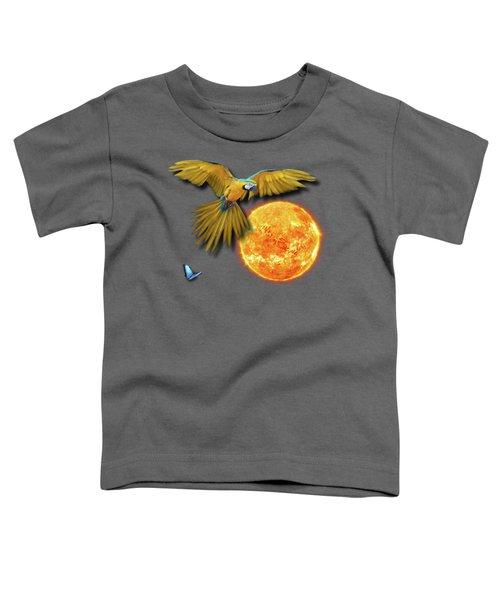 Macaw Sun Toddler T-Shirt