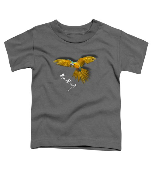 Macaws In Paint Toddler T-Shirt