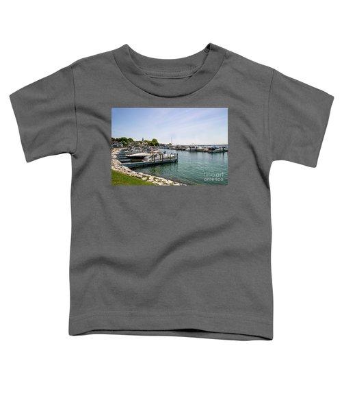 Mackinac Island Marina Toddler T-Shirt