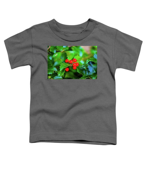 Macro Berries - 1202 Toddler T-Shirt