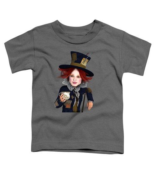 Mad Hatter Portrait Toddler T-Shirt