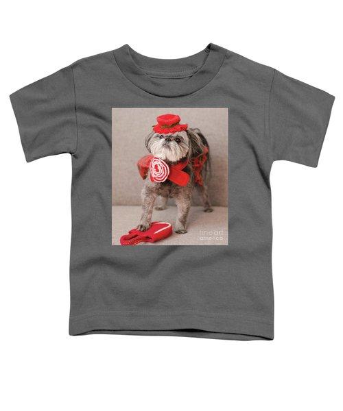 Madam Scarlett In All Red Toddler T-Shirt