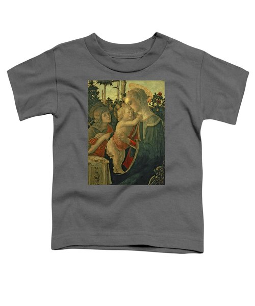 Madonna And Child With St. John The Baptist Toddler T-Shirt
