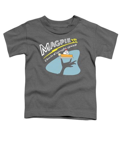 Mag Pies Toddler T-Shirt by Luis Pangilinan