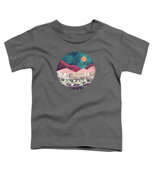 Magenta Mountain Toddler T-Shirt