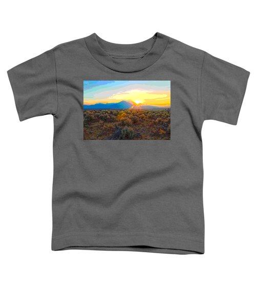 Magic Over Taos Toddler T-Shirt