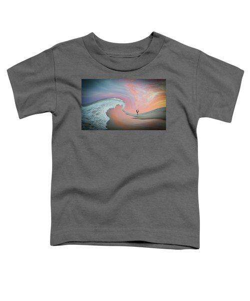 Magical Beach Sunset Toddler T-Shirt
