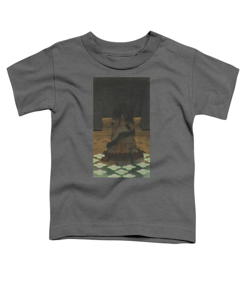 Magical Holy Mountain Within A Lotus-filled Sea Toddler T-Shirt