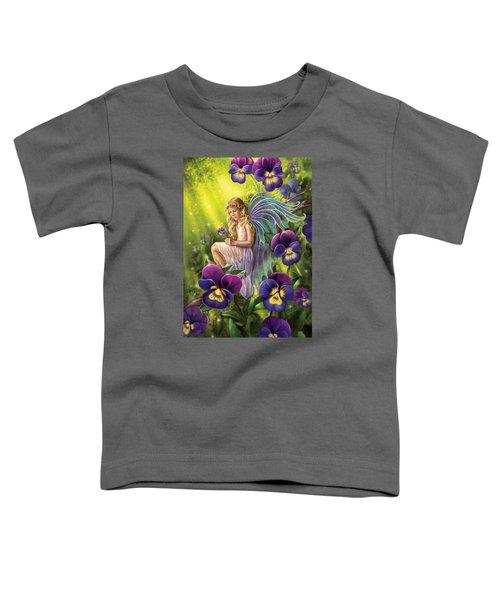 Magical Pansies Toddler T-Shirt