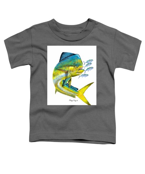 Mahi Digital Toddler T-Shirt by Carey Chen