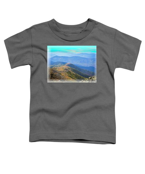 Majestic White Mountains Toddler T-Shirt