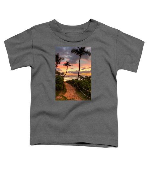 Makena Sunset Path Toddler T-Shirt