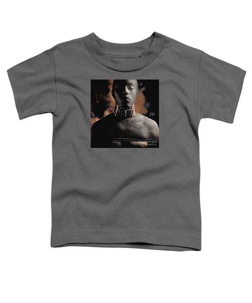 Male Masked Toddler T-Shirt