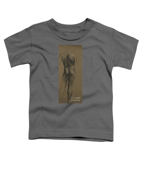 Male Nude Study Toddler T-Shirt
