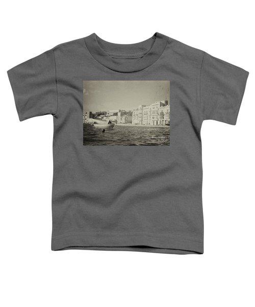 Maltese Boat Toddler T-Shirt