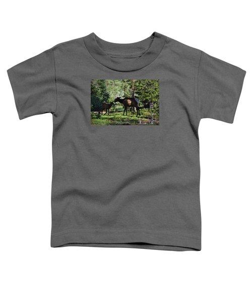 Elk Calf - Mother Rmnp Co Toddler T-Shirt