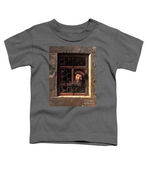Man At A Window Toddler T-Shirt