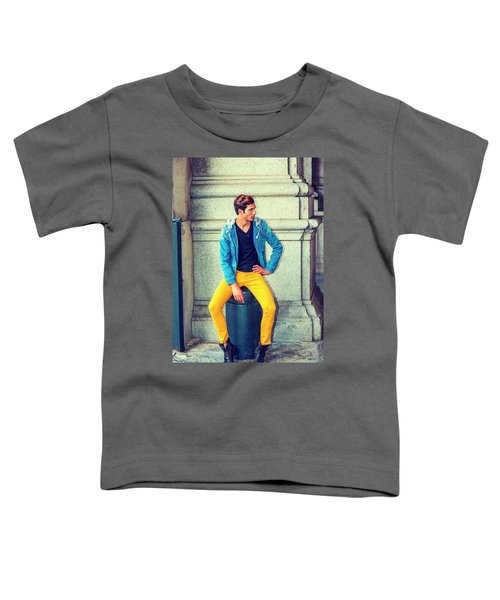 Man Street Fashion Toddler T-Shirt
