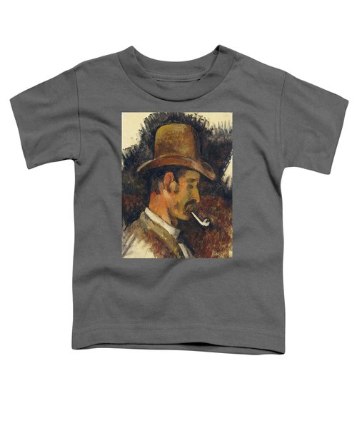 Man With Pipe Toddler T-Shirt