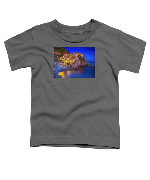 Manarola By Moonlight Toddler T-Shirt