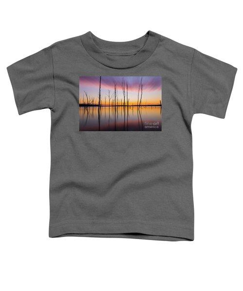 Manasquan Reservoir Long Exposure Toddler T-Shirt