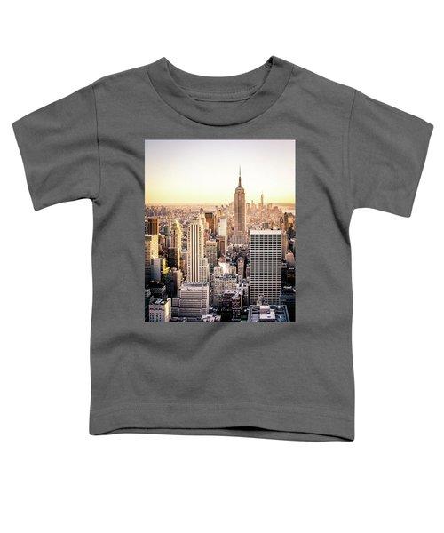 Manhattan Toddler T-Shirt by Michael Weber