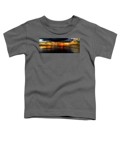 Manila Bay Sunset Toddler T-Shirt