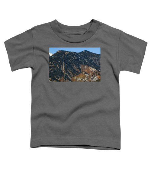 Manitou Incline Photographed From Red Rock Canyon Toddler T-Shirt