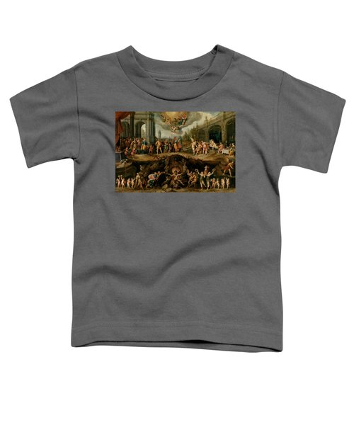 Mankind's Eternal Dilemma, The Choice Between Virtue And Vice Toddler T-Shirt