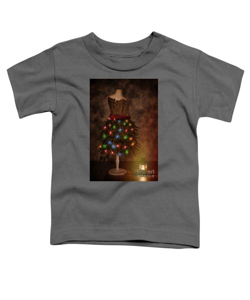Mannequin Dressed For Christmas Toddler T-Shirt