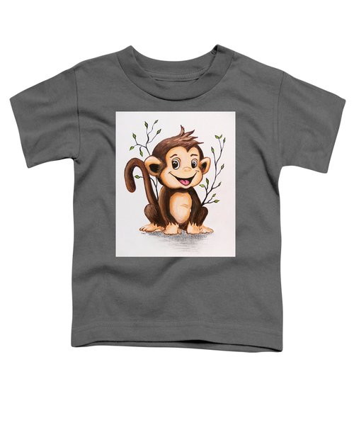Manny The Monkey Toddler T-Shirt