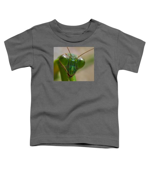 Mantis Face Toddler T-Shirt