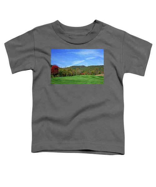 Maple Red Toddler T-Shirt