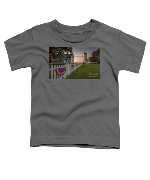 Marblehead Memorial  Toddler T-Shirt by James Dean