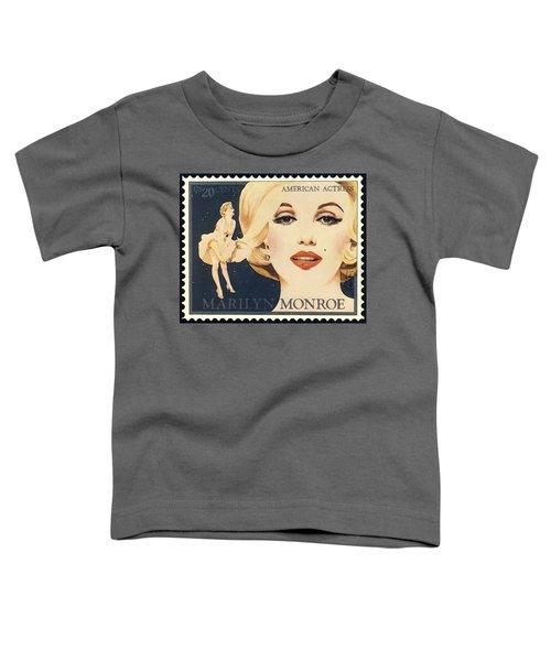 Marilyn Monroe Stamp Toddler T-Shirt