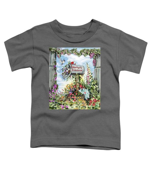 Marilyn's Greenhouse Toddler T-Shirt