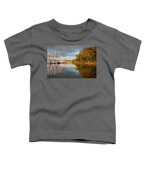 Marina Sunset 10 Toddler T-Shirt