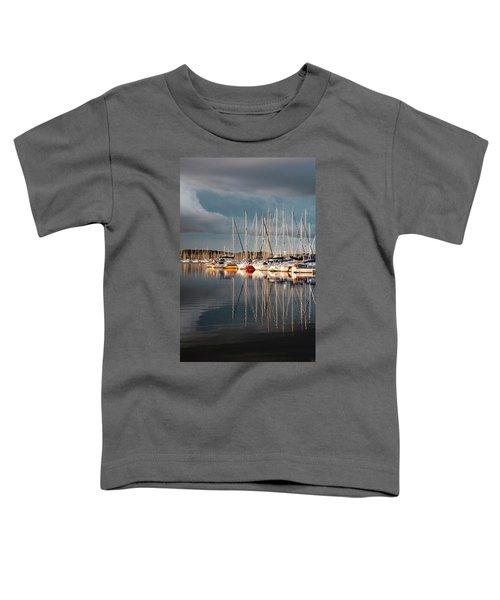 Marina Sunset 9 Toddler T-Shirt