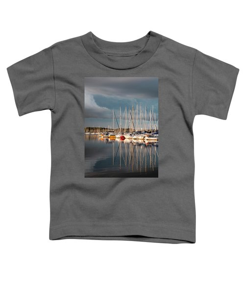 Marina Sunset 9 Toddler T-Shirt