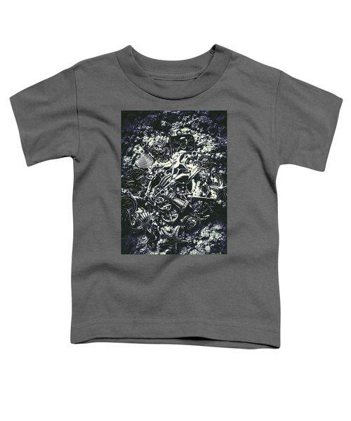Marine Elemental Abstraction Toddler T-Shirt