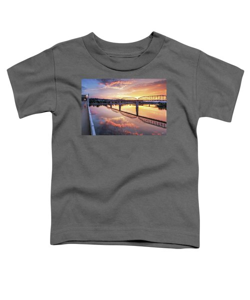 Market Street Jog At Sunrise Toddler T-Shirt