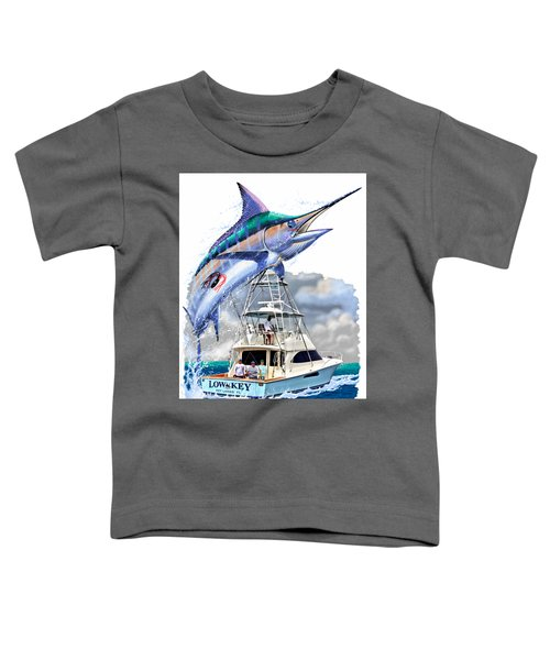 Marlin Commission  Toddler T-Shirt by Carey Chen
