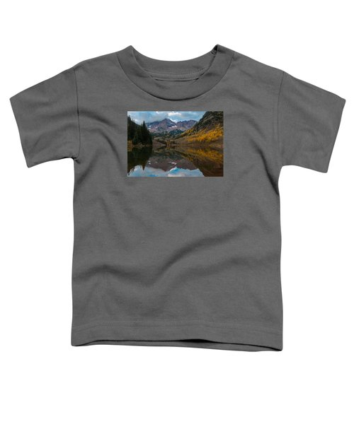 Maroon Bells Toddler T-Shirt by Gary Lengyel