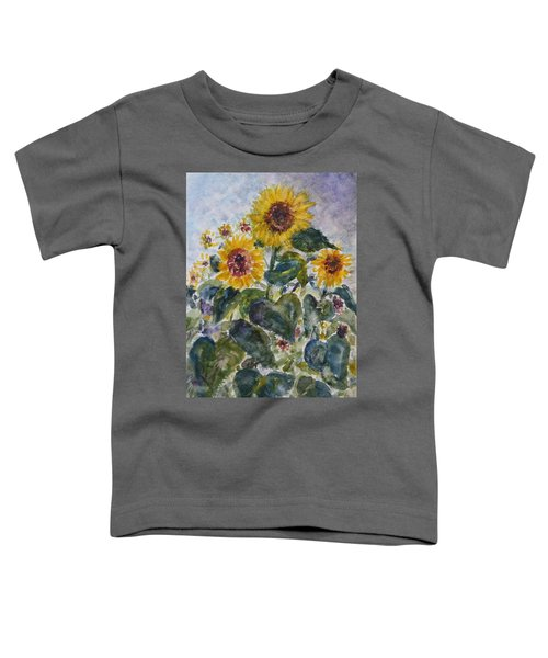 Martha's Sunflowers Toddler T-Shirt