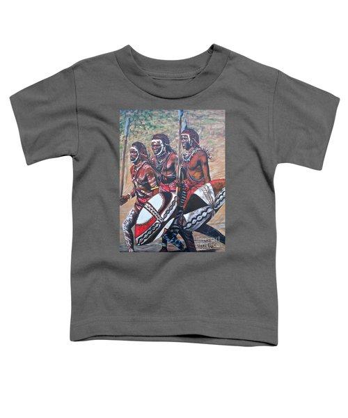 Blaa Kattproduksjoner       Masaai Warriors Toddler T-Shirt