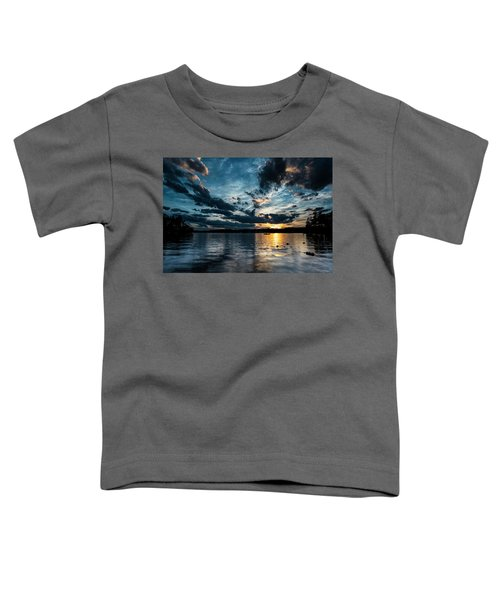 Masscupic Lake Sunset Toddler T-Shirt